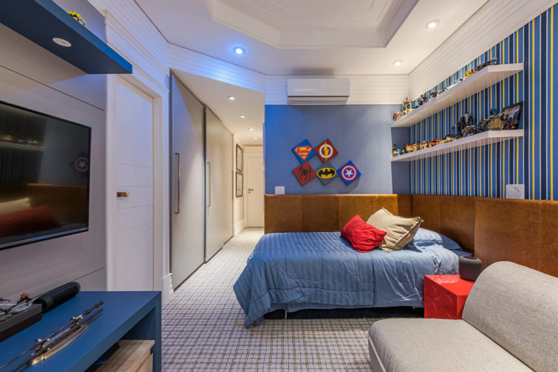 Mês especial da criança: quartos que brincam com a nossa imaginação